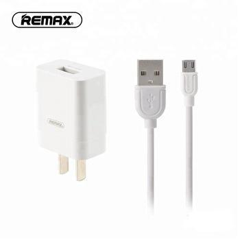 Single USB Travel Charger with Micro-USB Cable RP-U112 - Remax online