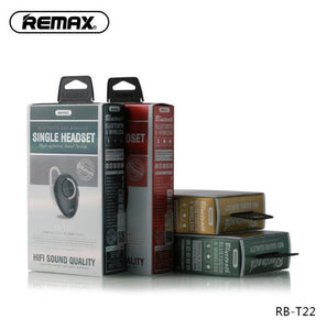 Bluetooth Earphone In-ear RB-T22 - Remax online
