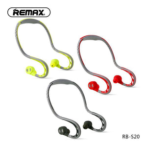 Sporty bluetooth headset RB-S20 - Remax online