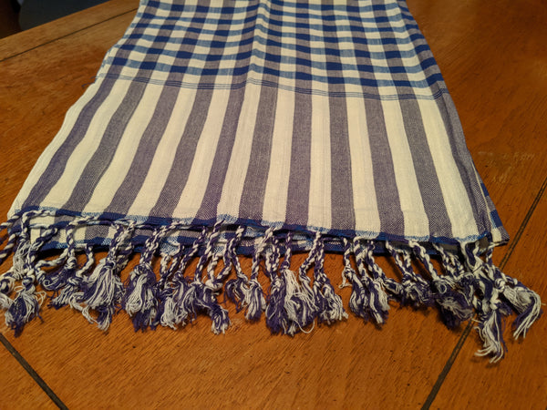 Tallit with integrated Tzitzit in the Ancient Custom