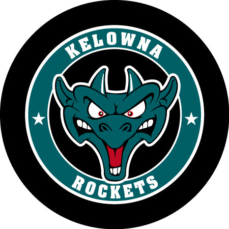 2018/19 Kelowna Rockets Hockey Puck