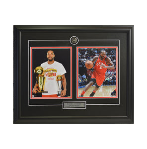 Kawhi Leonard Trophy & Action Shot Framed Photo (23 by 19 Frame)