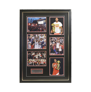 Raptors 2019 NBA Champions Framed Photo (27 by 39 Frame)