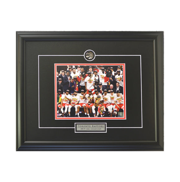 Team Trophy Celebration Framed Photo (19.5 by 16.5 Frame)