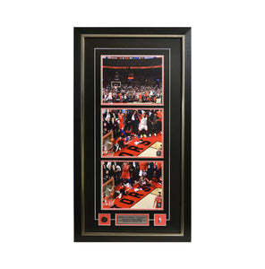 "Kawhi Leonard ""The Shot"" Framed Photo (19 by 35 Frame)"