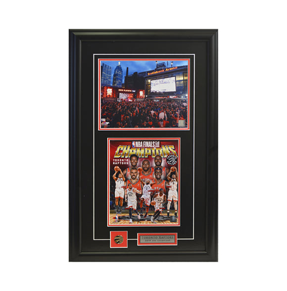Team Collage & Jurassic Park Framed Photo (17 by 27 Frame)