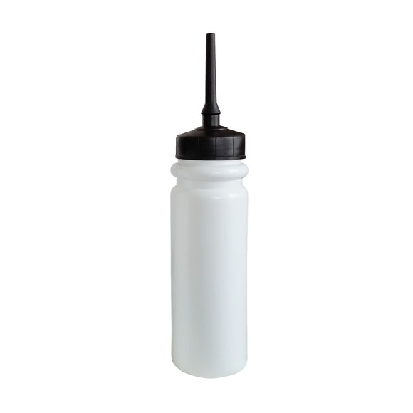 850ml White 'Tall Boy' Water Bottle (Extended Lid)