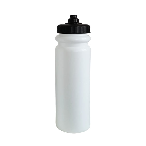 850ml White 'Tall Boy' Water Bottle (Pro Lid)