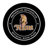 Acadie-Bathurst Titan Hockey Puck #2