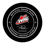 Lethbridge Hurricanes Hockey Puck
