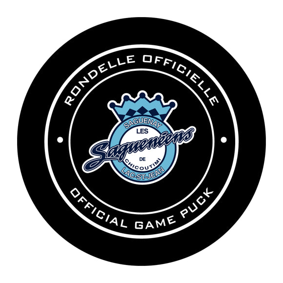 Chicoutimi Sagueneens Hockey Puck