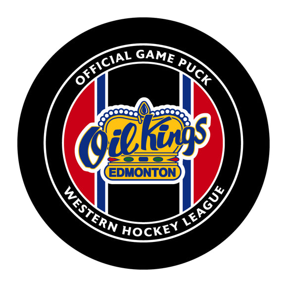 Edmonton Oil Kings Hockey Puck #2
