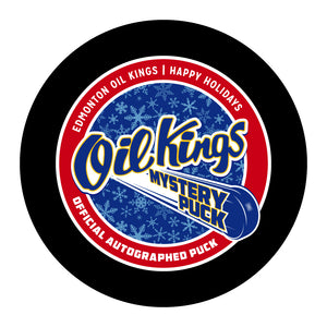 Edmonton Oil Kings Mystery Hockey Puck