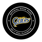Erie Otters 2017 Champions Hockey Puck