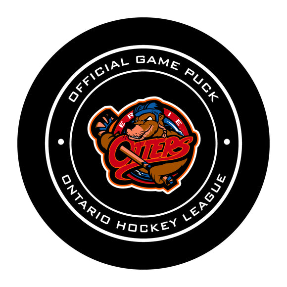 Erie Otters Hockey Puck