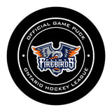Flint Firebirds Hockey Puck