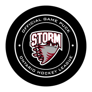 Guelph Storm Hockey Puck
