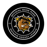 Hamilton Bulldogs Hockey Puck