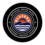 Kamloops Blazers Hockey Puck
