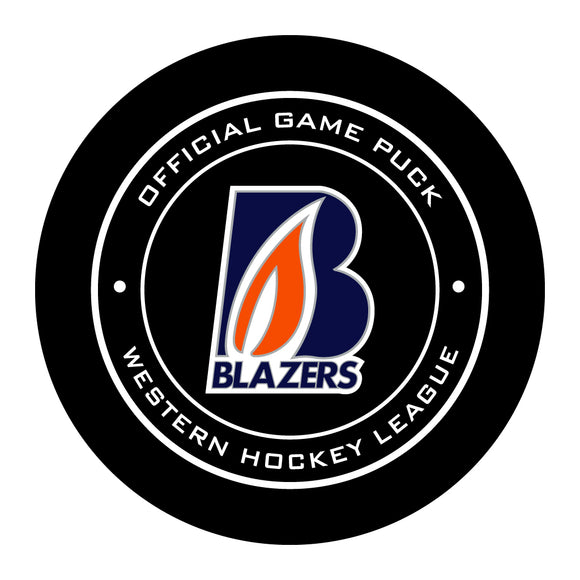 Kamloops Blazers Hockey Puck #2
