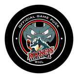 Kelowna Rockets Hockey Puck