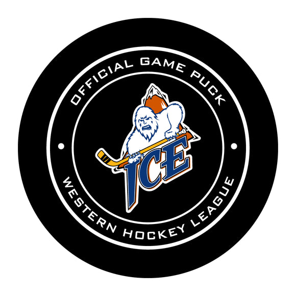 Kootenay Ice Hockey Puck