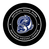 Mississauga Steelheads Hockey Puck