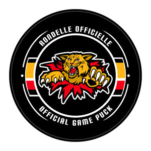 Moncton Wildcats Hockey Puck