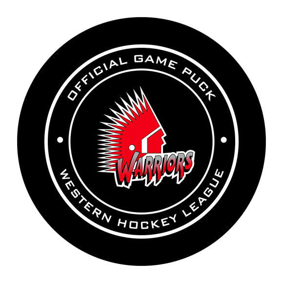 Moose Jaw Warriors Hockey Puck