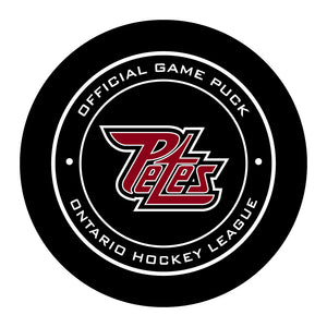 Peterborough Petes Hockey Puck