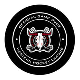 Red Deer Rebels Hockey Puck