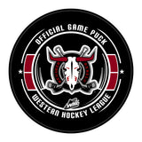 Red Deer Rebels Hockey Puck #2