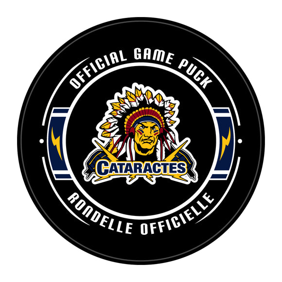 Shawinigan Cataractes Hockey Puck