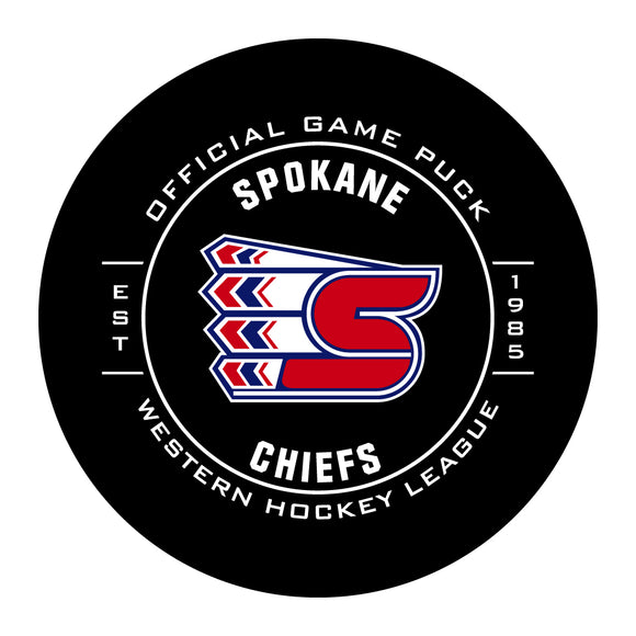 Spokane Chiefs Hockey Puck #2