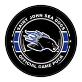 St. John's Sea Dogs Hockey Puck