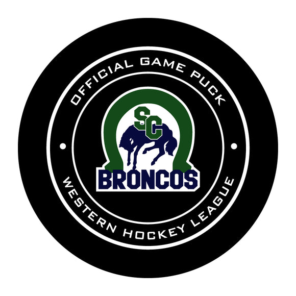 Swift Current Broncos Hockey Puck