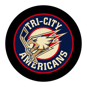 Tri-City Americans Hockey Puck