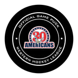 Tri-City Americans Hockey Puck #2