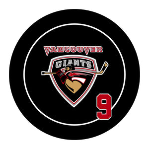 Vancouver Giants Hockey Puck #2