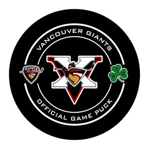 Vancouver Giants Hockey Puck #3