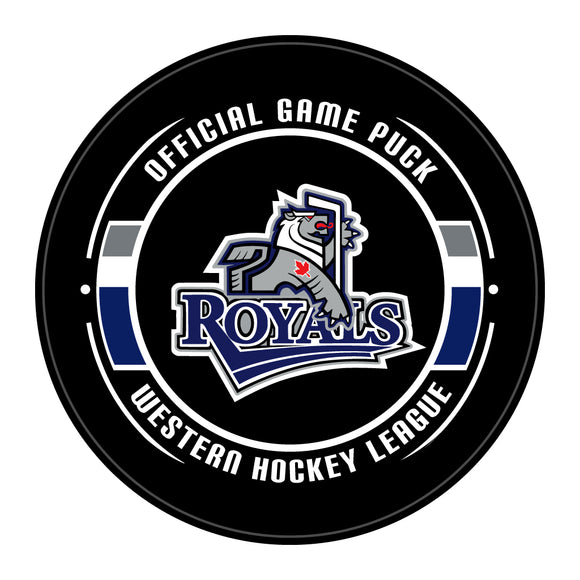 Victoria Royals Hockey Puck