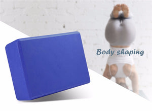 {NEW 2018} EVA Yoga Block Brick Stretching Aid Body For Shaping, Health & Training *Soul Edition*