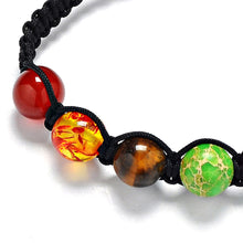 [NEW 2018] 7 Chakra Healing Agate Beads Bracelet *Soul Edition Collection*