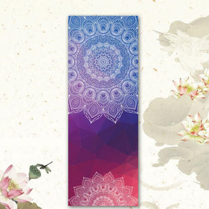 {NEW 2018} New Issue Retro style Yoga Mat Towel Sport Fitness Gym Exercise Pilates Workout Portable Training Cover Blanket Soft Towel *Soul Edition*