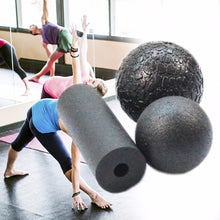 3 in1 Set EPP Hollow Yoga Column Foam Roller Blocks For Massage & Technique Refinement