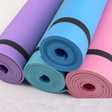 {NEW 2018} Simanfei Yoga Mats Fitness Three Parts Environmental Tasteless Fitness 4 Colors Gym Exercise Mats 173*60*0.4cm *Soul Edition*