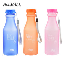 [NEW 2018] HooMall Unbreakable BPA Free Sports Water Bottles 550ml Portable Leak-Proof Yoga Gym Fitness Drinking Accessories *Soul Edition*