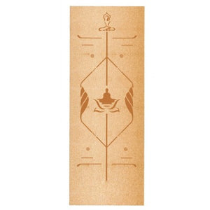 {NEW 2018} Naturistics Self Cleaning Natural Rubber & Cork 5mm Yoga Mat *Premium Soul Edition Collection*