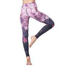 [NEW 2018] Galactic Blossom Ultra-Premium Yoga & Fitness Pants