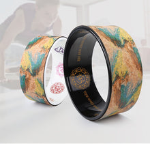 [NEW 2018] Galactic Energy Eco-Friendly Cork Yoga Wheel *Premium Soul Edition Collection*